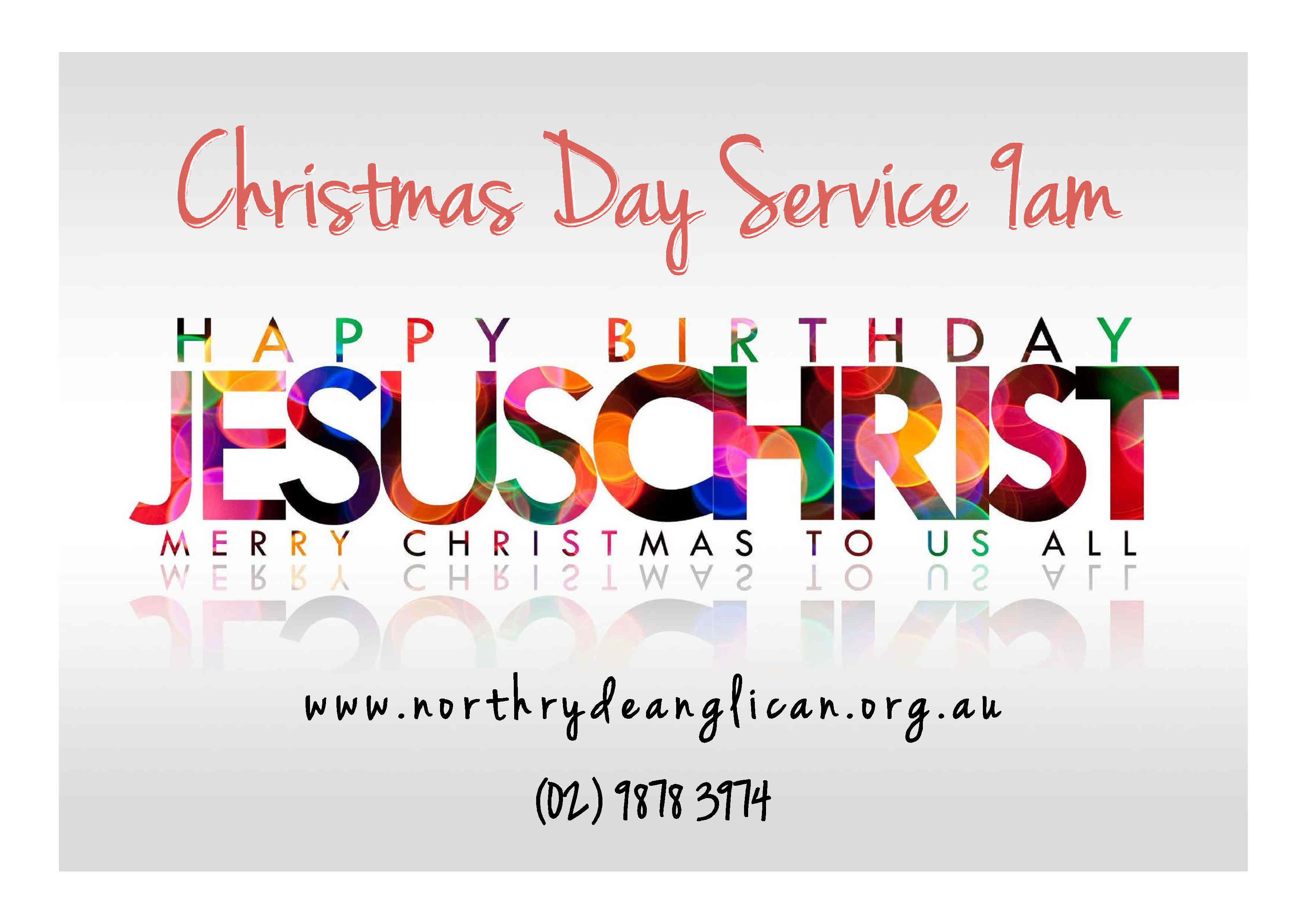 <p>Join us for a fun filled celebration of Jesus for all ages! Our service commences promptly at 9:00am and concludes at 9:45am with a morning tea celebration in our playground.</p>