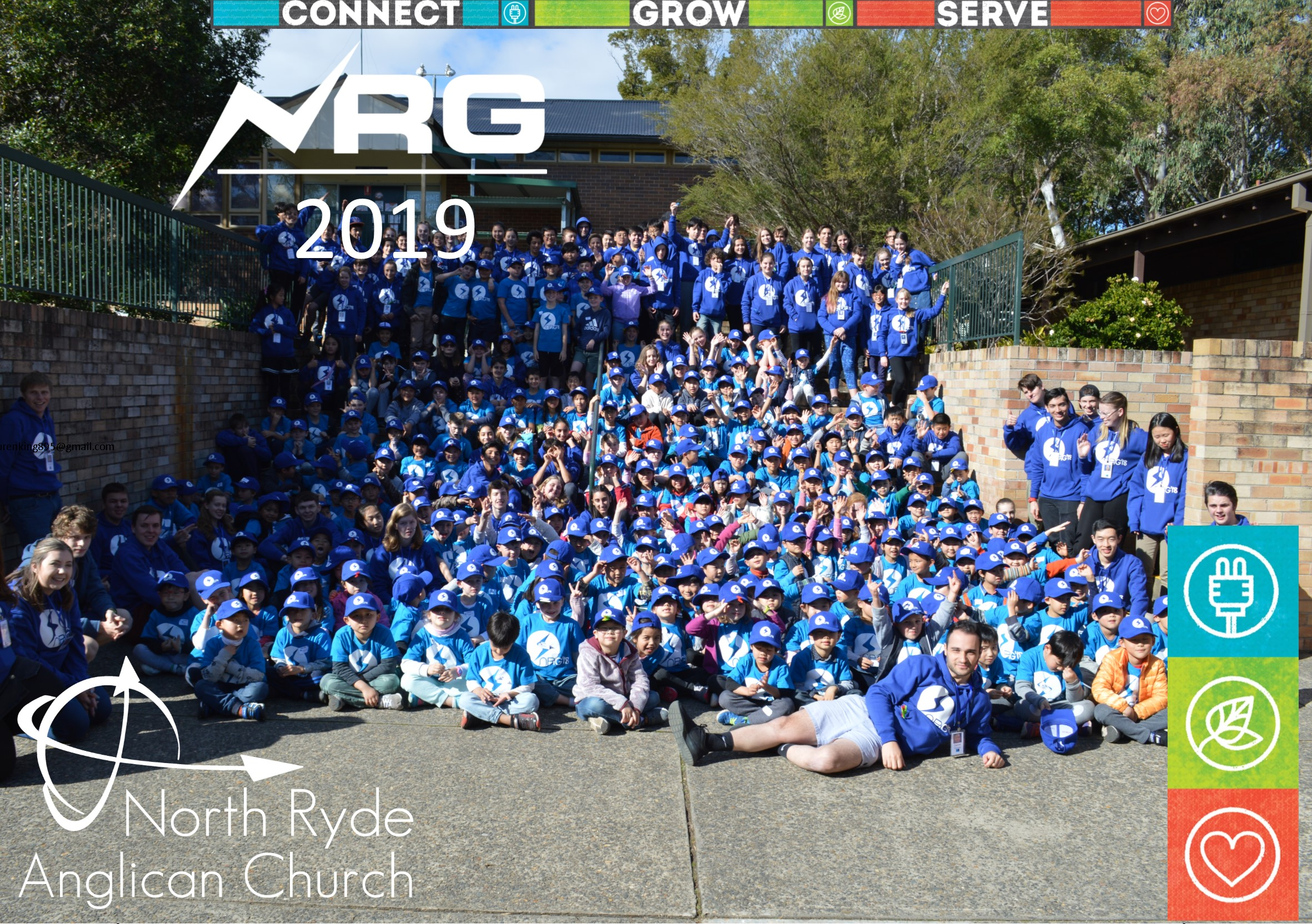 <p>NORTH RYDE GAMES (NRG) On again in 2019 – Monday July 8th – Friday 12th July. Mon-Thur 9am-3pm Friday 9am -7pm (NRG celebration party) REGISTRATION CLOSED – Love to see you at NRG 2020   Teenagers in Yr 6 and older are welcome to enquire about our LEADERSHIP DEVELOPMENT program. […]</p>